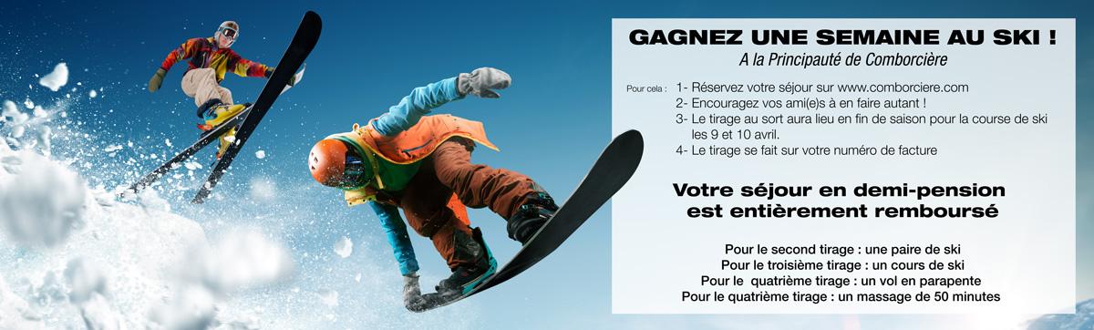 Gagnez votre semaine au ski